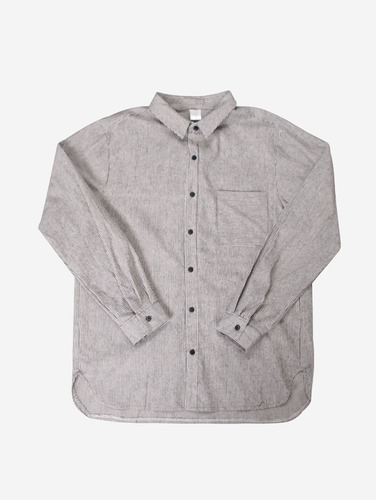 028) F/W 잔단가라 포켓 2컬러 셔츠