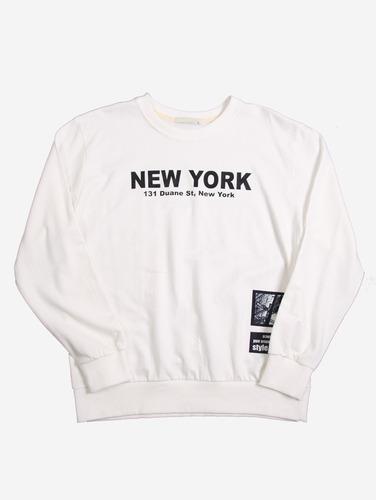 068) 뉴욕 프린트 4컬러 맨투맨 104