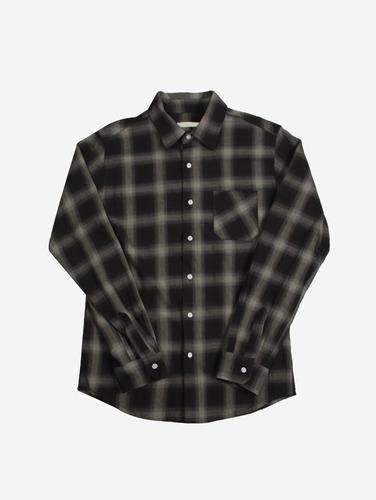 068) 타탄 체크 패턴 2컬러 셔츠