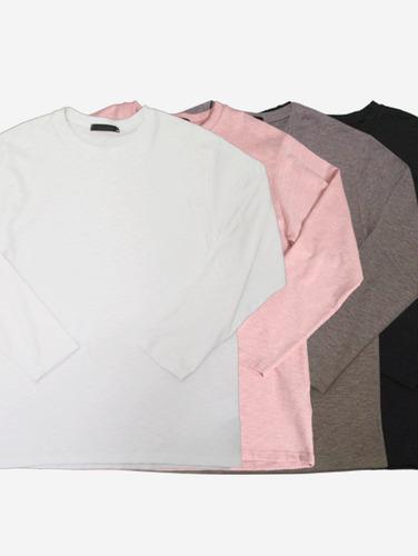 130) 허니 슬럽 4컬러 박스 티셔츠
