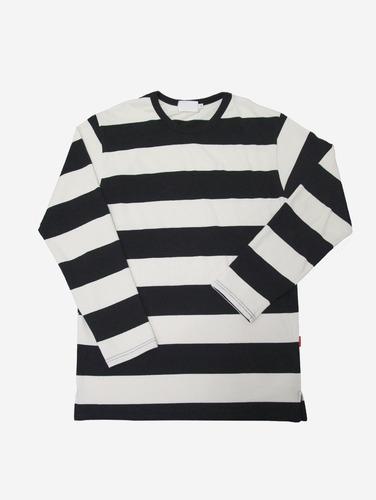 139) 빅 스트라이프 3컬러 박스 티셔츠
