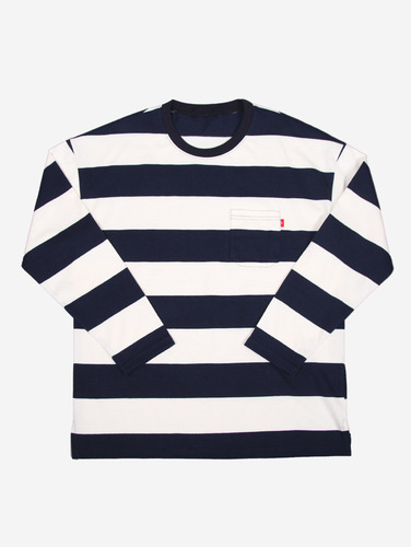144) 10수 스트라이프 4컬러 루즈핏 티셔츠