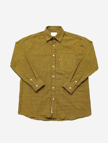 NO.22) 컬러 체크 3컬러 박스핏 셔츠