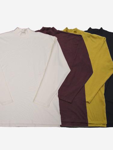 148) 데일리 하프 폴라 4컬러 티셔츠