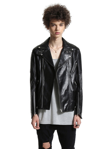 universe) Burb*rry Pr*sum rolling biker rider jacket