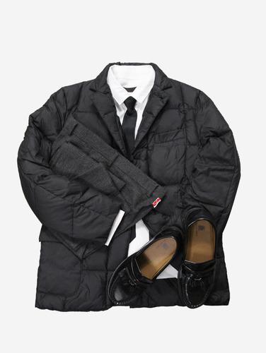 008) 로열 구스다운 패딩 하프자켓