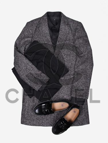 107) 샤* st 보카시 하프 코트
