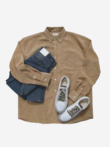 no.76) 코듀로이 4컬러 아우터 셔츠
