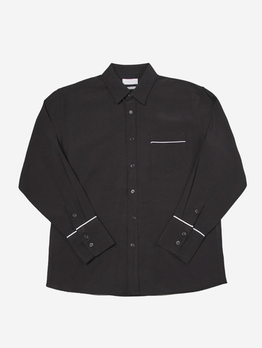 135) 라인 파자마 셔츠