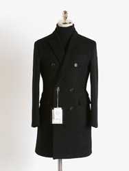 캐시미어 더블 코트[ Ashed ] cashmere double coat