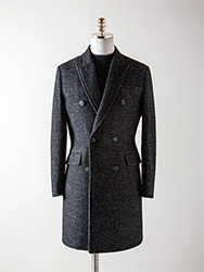 앙고라 더블 코트[ Ashed ]angora double coat (극소량 입고!!!)