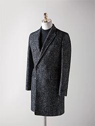 헤링본 더블 코트[ Ashed }herringbone double coat (극소량 입고!!!)